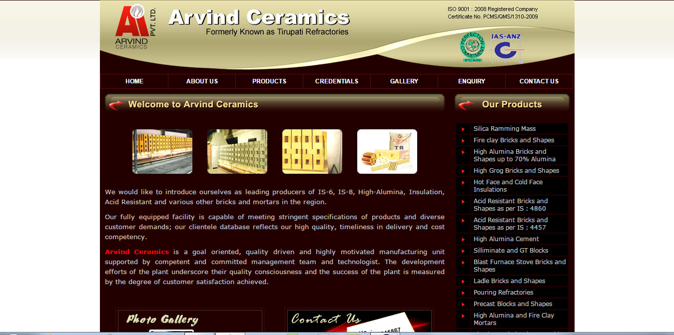Arvind Ceramics Pvt. Ltd.