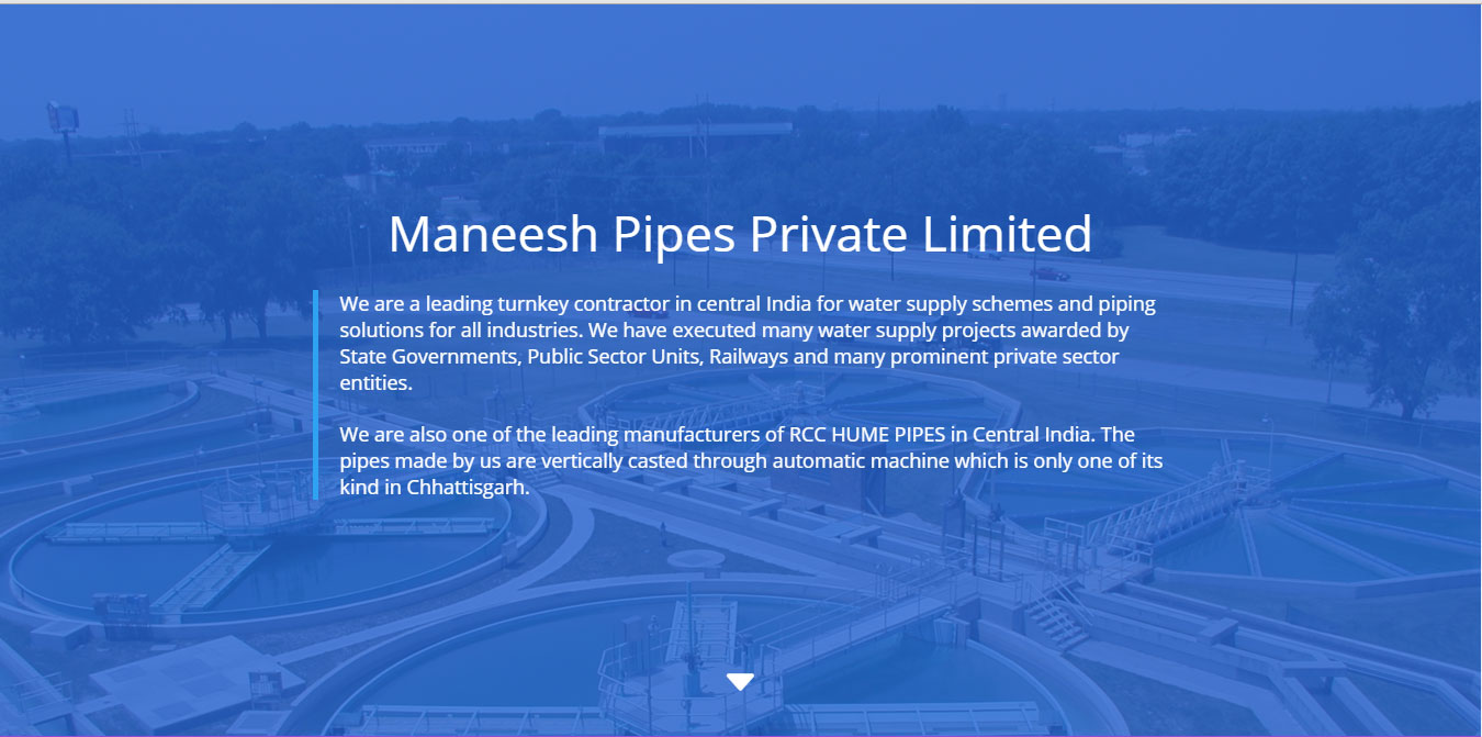Manish Pipes Pvt. Ltd.