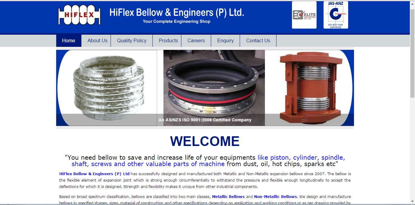 Hiflex Bellow & Engg. Pvt. Ltd.